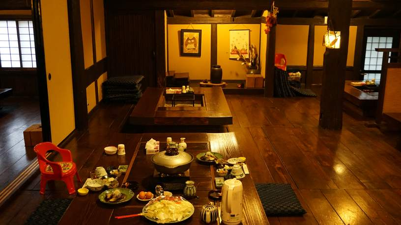 Slapen en eten in traditionele Japanse accommodaties is een feest